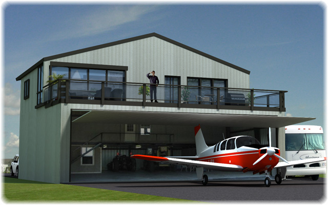 Airplane Hangar House on florida interior design ideas
